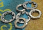 1957-1959 Fender Lock Washers and Nuts