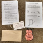 1959-1960 Original Gibson Hang Tag Set