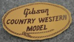 1956 Gibson Country Western Label