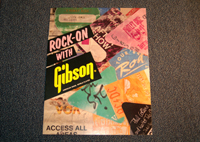Rock-On with Gibson Advertisement