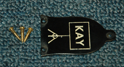 1961 Kay Truss Rod Cover