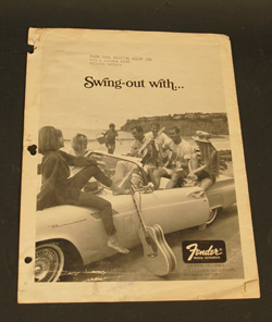 1966 Fender Price List