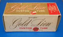 Gold Lion Tube Box