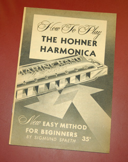 1959 Hohner Harmonica how-to book