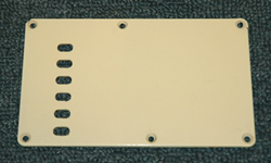 Strat Backplate