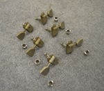 Double Line Nickel Tulip Button Tuning Machines
