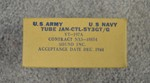 Joint Army/ Navy JAN-CTL-5Y3GT/G Tube