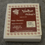 2010 Voodoo Peter Florence Sweet Modern ST Set for the Stratocaster